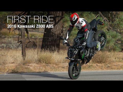 2016 Kawasaki Z800 ABS First Ride Review - MotoUSA