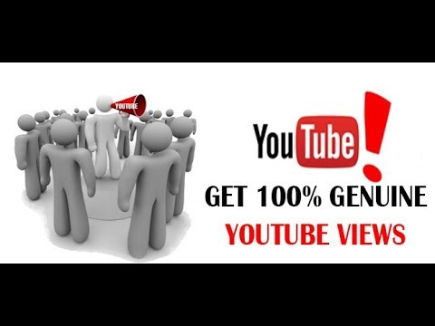 How to get 100% genuine youtube views, twitter followers, facebook likes and instagram followers.
