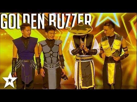 ADEM Dance Crew WINS Golden Buzzer On Asia's Got Talent 2017   Got Talent Global