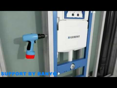 Geberit Duofix Frame with Sigma Cistern 12cm Installation (Drywall)