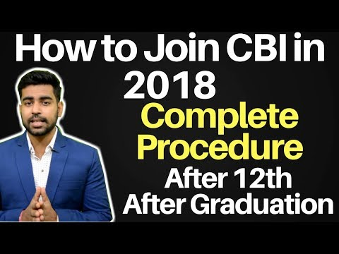 How to Join CBI ? | After 12th | After Graduation | Eligibility |  SSC CGL 2018 | Hindi