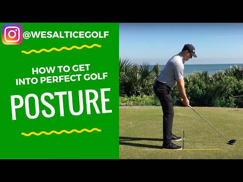 How to Get into Perfect Golf Posture
