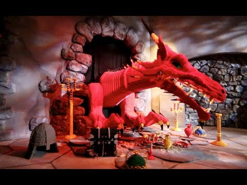 The Dragon (Front & Back Seat HD POV) - Legoland California