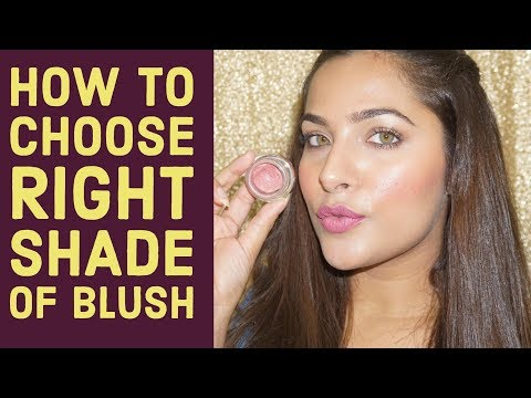 How to choose RIGHT shade of BLUSH | Beginners Makeup Tips & Tricks  | Urban Panache