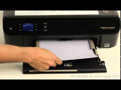 HP Deskjet Ink Advantage 3545 - Replacing/Installing Ink Cartridges