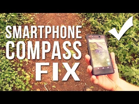 Smartphone Compass Fix!    For Google Maps on Android