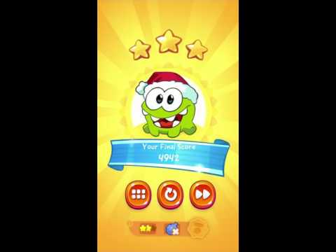 Cut the Rope 2 ~ 1-23 Forest, 3Stars, Medal (2Stars, No Air Cushion)