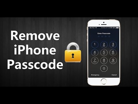 Remove iPhone X/8/8 Plus/7 Passcode without iTunes. 1 Click only