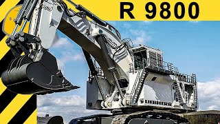 🔥LIEBHERR R 9800 EXCAVATOR - 4000HP & 800T MONSTER MACHINE - [ENGLISH 1080p] - Bauforum24