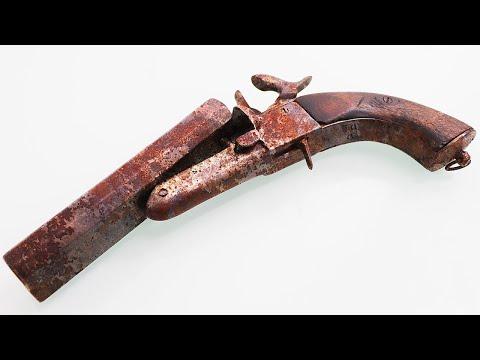 Antique Rusty Lefaucheux  - Restoration