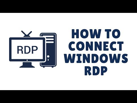 how to connect windows  rdp
