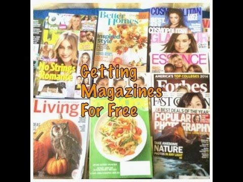 How To Get Magazine Subscriptions At No Cost To You Plus A FREE Sample Magazine Haul