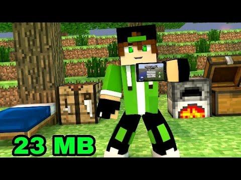 DOWNLOAD DO MINECRAFT PE 1.1 LITE APK ANTI-LAG 23 MB SEM ERRO !!!