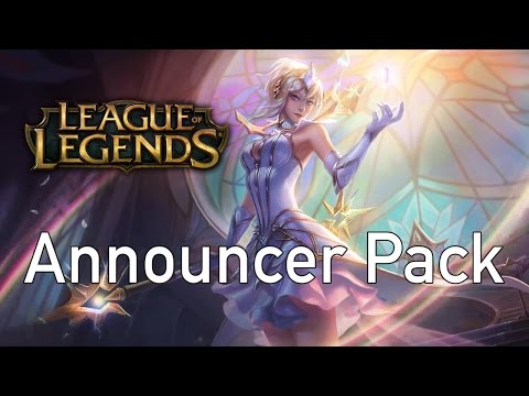 Can't Afford the Ultimate Skin! - Elementalist Lux Announcer Pack | League of Legends
