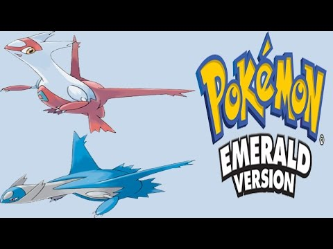 Pokemon Emerald - Latios and Latias ( Southern Island Event )