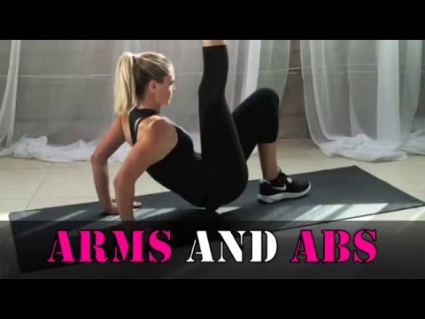 Arm Slimming Exercises : How To Slim Down Arms At Home