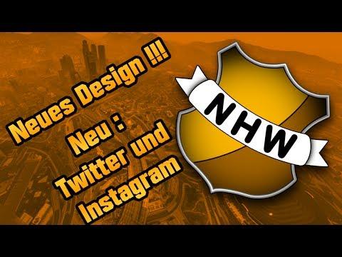 KANAL INFO !!! NEUES DESIGN | NEUE SOCAIL MEDIA SEITEN | TWITTER & INSTAGRAM | NHW DEUTSCH / GERMAN
