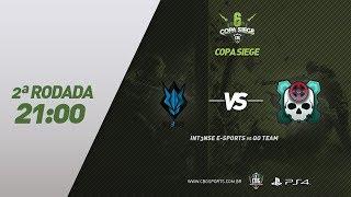 COPA SIEGE #5 (PS4) - INT3NSE e-Sports VS QO Team - 2ª Rodada