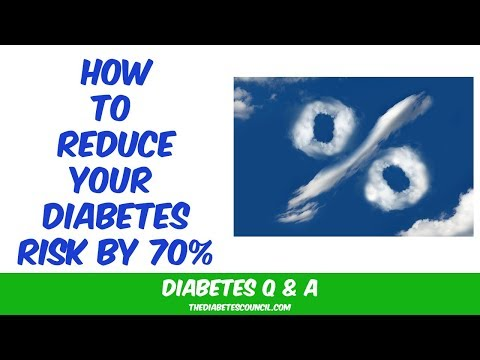 How You Can Reduce Diabetes Risk By 70%