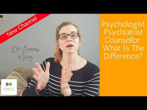Psychologist, Psychiatrist, Counsellor: What Is The Difference?