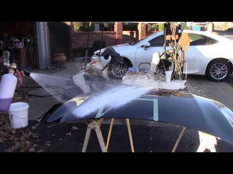 My Decon Car Soap - Foaming & Residue Testing!