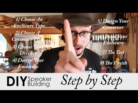 Step by Step Guide to Build Your Own Speakers | DIY Speaker Building