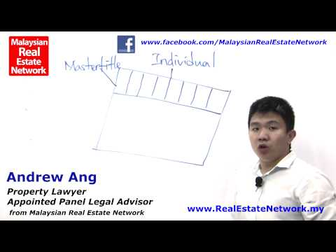 Property Investment Malaysia Legal Tips No 2 - What Is Property with Title?