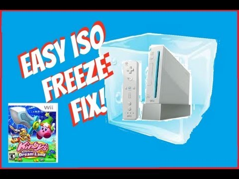 How to FIX Kirby's Return to Dreamland Wii ISO Freeze Fix (usb loader alternative)