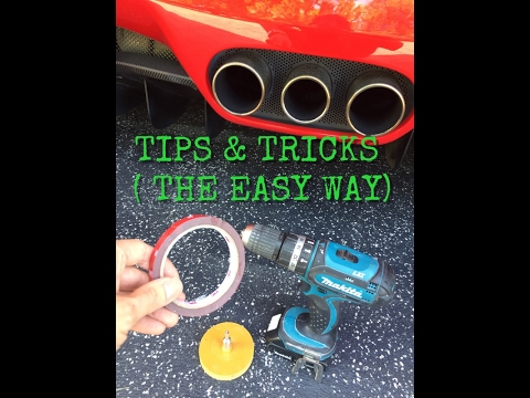 How To Remove Double Sided Tape From A Car ( The Easy Way )