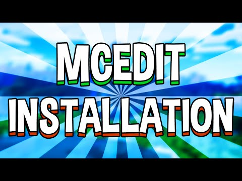 How to Install MCEdit for Minecraft! UPDATED 2015 Version! (MCEdit 1 & 2)