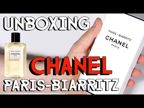 CHANEL LES EAUX - PARIS BIARRITZ - UNBOXING