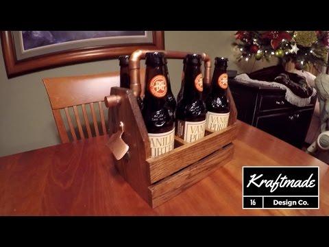 Copper Beer Caddy - Kraftmade