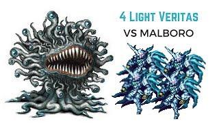 FFBE - Manual Spark Chain - No Macro vs Marlboro - Works Again 4/7/18