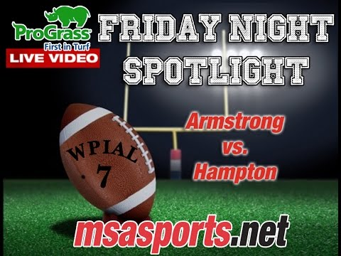 MSA Sports Friday Night Spotlight Game: Armstrong vs. Hampton 9-25-15