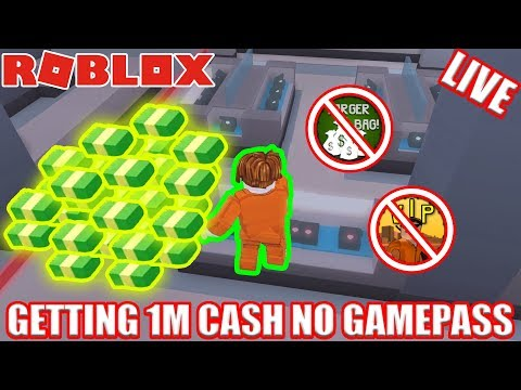[NO GAMEPASS] Getting 1 MILLION Jailbreak Cash | 🔴 Roblox Jailbreak Free Jailbreak Cash LIVE!