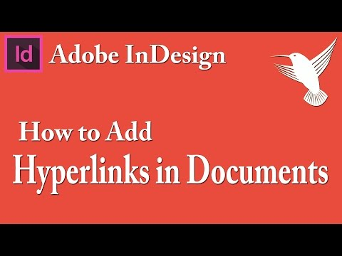 How to Add Hyperlinks Into Your Documents with Adobe InDesign - Academy Class