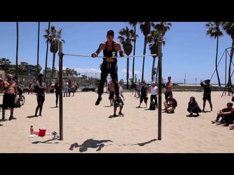 Calisthenics Jam at Muscle Beach Hosted by Venice Dynamics