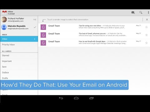 How'd They Do That? Use Google Apps Email on Android