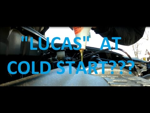 Will Oil additive solve cold start motor noise? Experiment