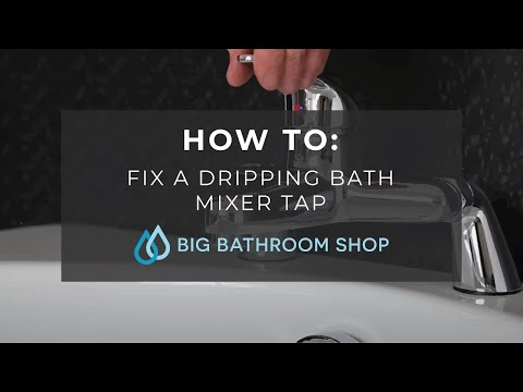 How to Fix a Dripping Bath Mixer Tap
