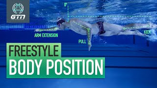 Swim Front Crawl: Body Position & Technique | Freestyle Swimming