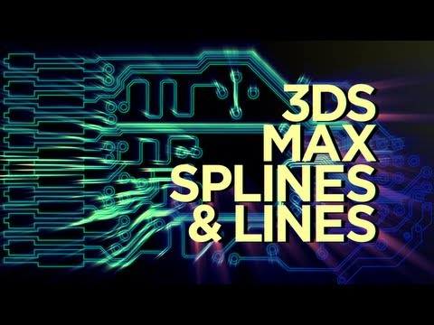 Creating a Circuit Board with 3D Splines Tutorial