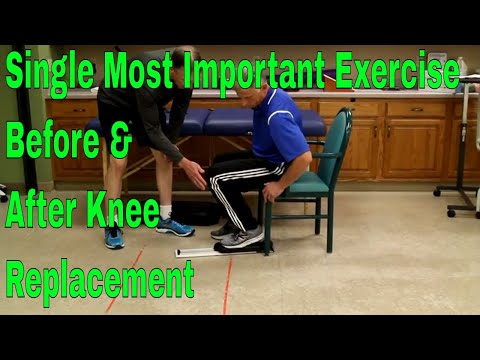 Single Most Important Exercise Before & After Knee Replacement