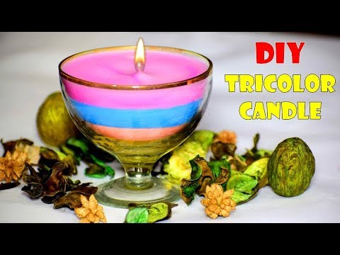 DIY Diwali | How To Make Beautiful Candle from old candles | Diwali Decoration ideas