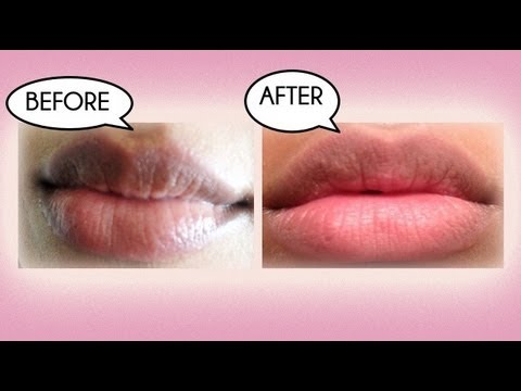 How to Lighten Dark Lips Naturally