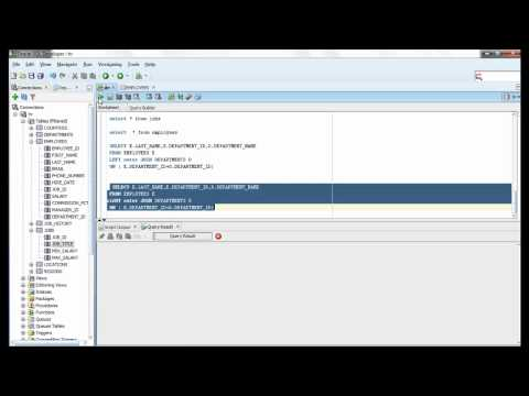Oracle SQL Video Tutorial 37 - Right Outer Joins