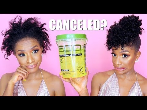 Quick 5-Min. Pineapple Ponytail + Eco Styler Gel CANCELLED?