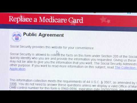 How to Get a Replacement Medicare Card