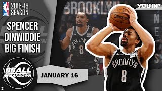 The CRAZIEST Finish To An NBA Game This Year: Nets vs Rockets