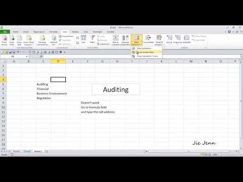 Excel 2010 - Link Textbox to a Cell